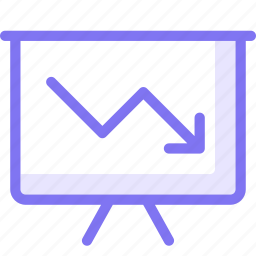 board, finance, performance icon