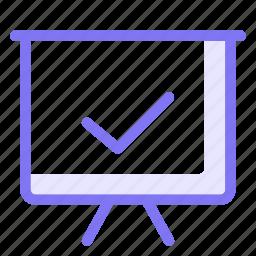 board, performance, tick, ui icon