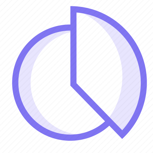 chart, pie, pie chart, portion icon