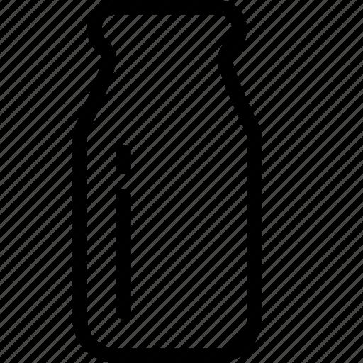 beverage, bottle, drink, food, milk, snack icon