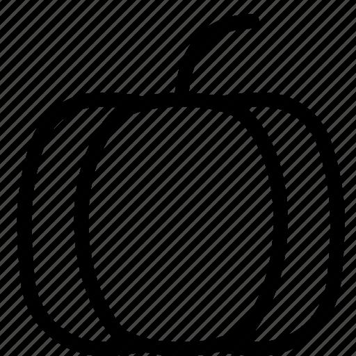 food, pumpkin, snack icon