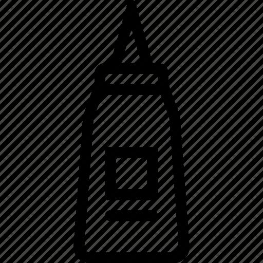 sauce, season, tube icon