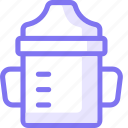 bottle, drink, food, kid, suplement icon