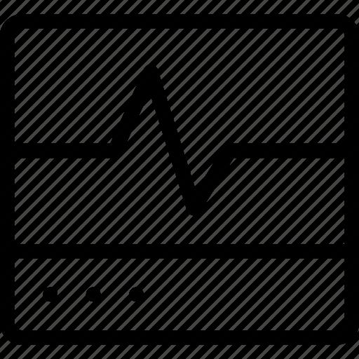 heart, monitor icon