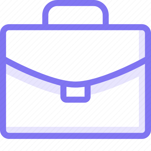 b, bag, office, project icon