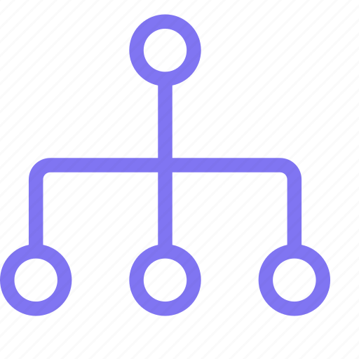 birocrachy, hierarchy, organization, structure icon