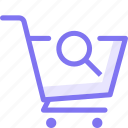 cart, history, online shopping, search