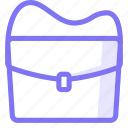 bag, messenger icon