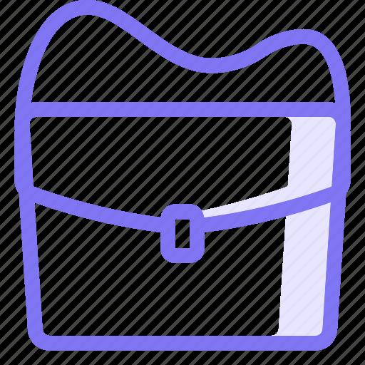 bag, messenger icon