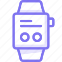 apple, apple watch, dialog, smart, watch icon