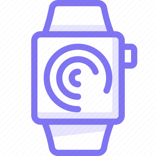 apple, apple watch, progress, smart, watch icon