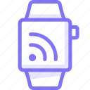 apple, apple watch, rss, smart, watch icon