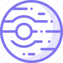 alien, mars, planet icon