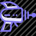 gun, laser, laser gun, raygun, space icon