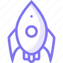 astronout, launch, rocket, space, spacex icon