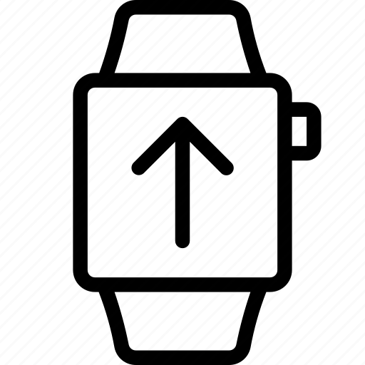 smart, upload, watch icon
