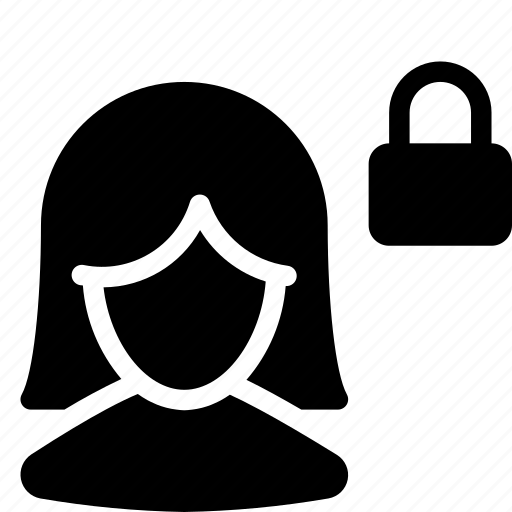 client, customer, female, girl, person, silhouette, user icon