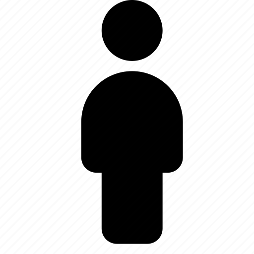 client, customer, person, silhouette, user icon