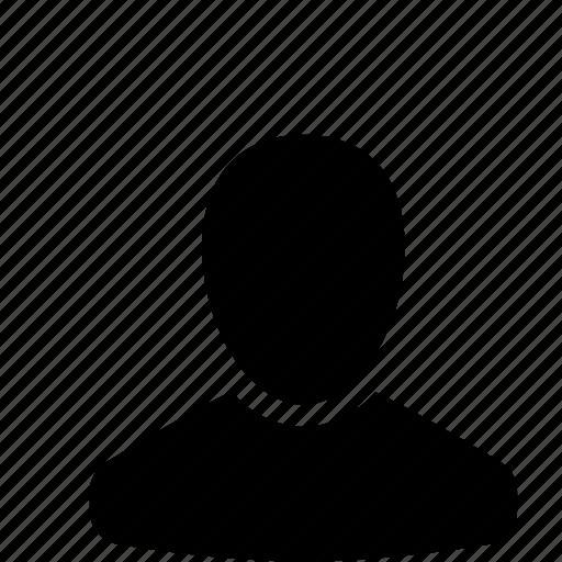 b, user icon