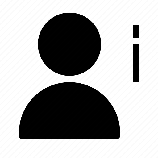 client, customer, information, person, silhouette, user icon