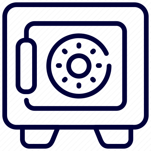 Bank, deposit, locker, money, safe, security icon - Download on Iconfinder