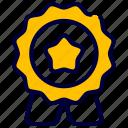 award, badge, best, guarantee, quality, ranking icon