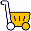ecommerce, market, shop, trolly