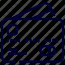 card, credit, ecommerce, money icon