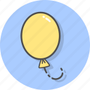 balloon, balloons, event, gift, hope, joy icon