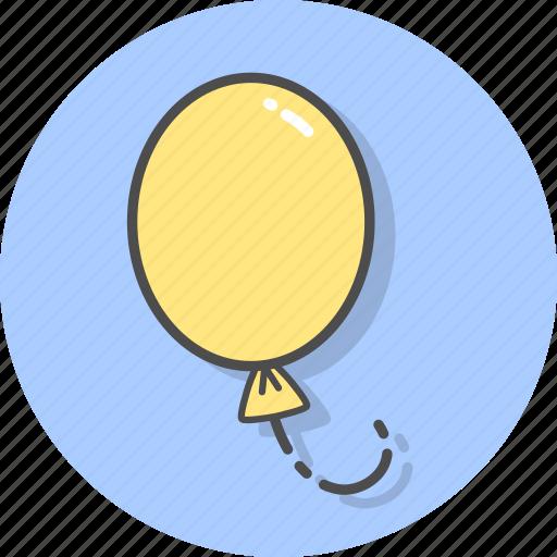 balloon, balloons, event, gift, hope, joy icon