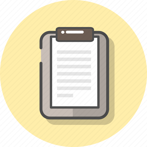 clipboard, copy, document, paper, report, sheet, task icon