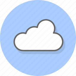 cloud, clouds, database, drive, sky, storage, weather icon
