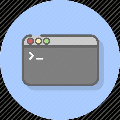 application, code, console, development, program, programming, windows icon