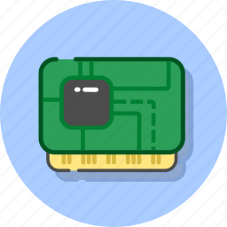 chip, hardisk, hardware, memory, ram, storage, usb icon