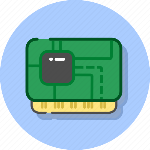 chip, hardisk, hardware, memory, ram, storage, usb icon