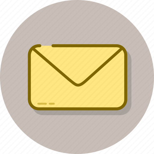 attachment, email, envelope, inbox, mail, message icon