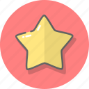 achievement, award, like, medal, rate, star, win icon