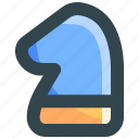 horse, knight, strategy, success icon