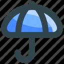 finance, insurance, protect, protection, umbrella icon
