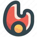 fire, hot, hotlist, offer, sale icon