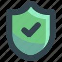 guarantee, guaranteed, protection, secure, security, shield icon
