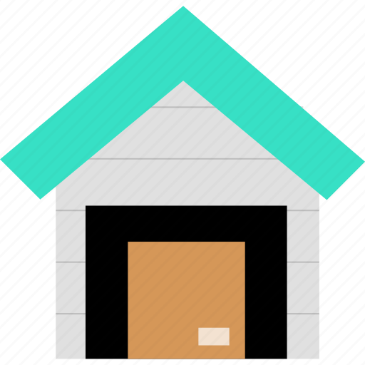 building, house, storage icon