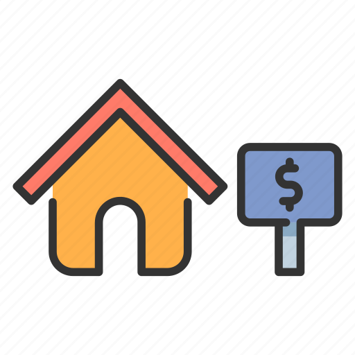 Buy, estate, home, house, mortgage, real, sale icon - Download on Iconfinder