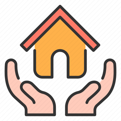 Architecture, estate, home, house, insurance, real, security icon - Download on Iconfinder
