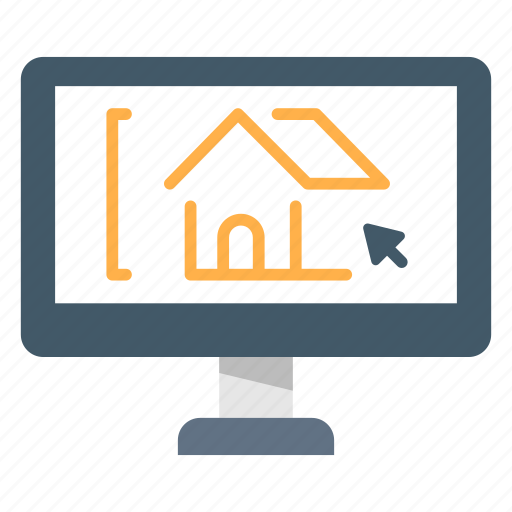 Architecture, computer, concept, design, house, software icon - Download on Iconfinder