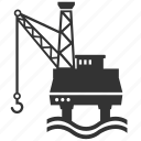 construction, gas station, hydroelectric, industry, station icon