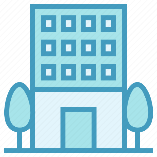 Apartment, building, center, company, office icon - Download on Iconfinder