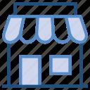 building, market, retail, shop, store icon
