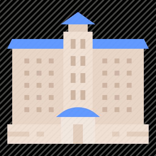 architecture, building, city, construction icon