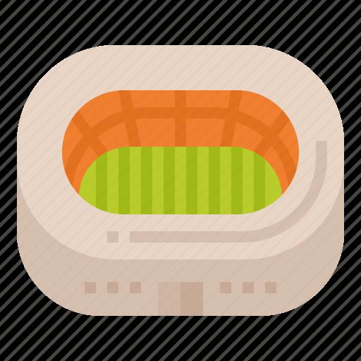 auditorium, construction, sportive, stadium icon